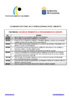 3 Calendario Electoral Lanzarote