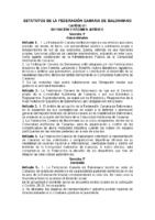 Estatutos FECANBM
